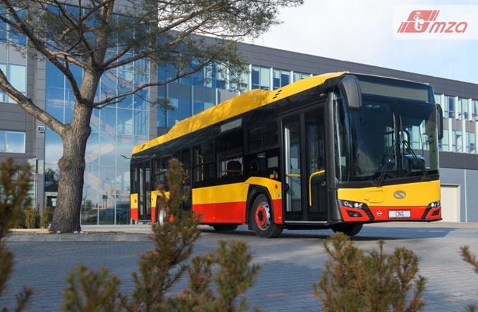 Warszawa: Pierwszy gazowy Solaris przed odbiorami