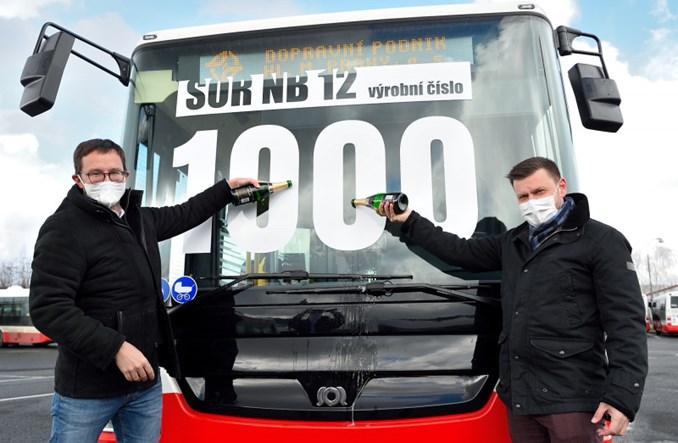 Praga odebrała ostatni autobus SOR. Średnia wieku autobusów spadła poniżej 6 lat