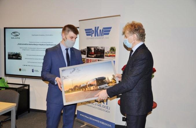 Elektrobusy jadą do PKM Czechowice-Dziedzice. Umowa podpisana