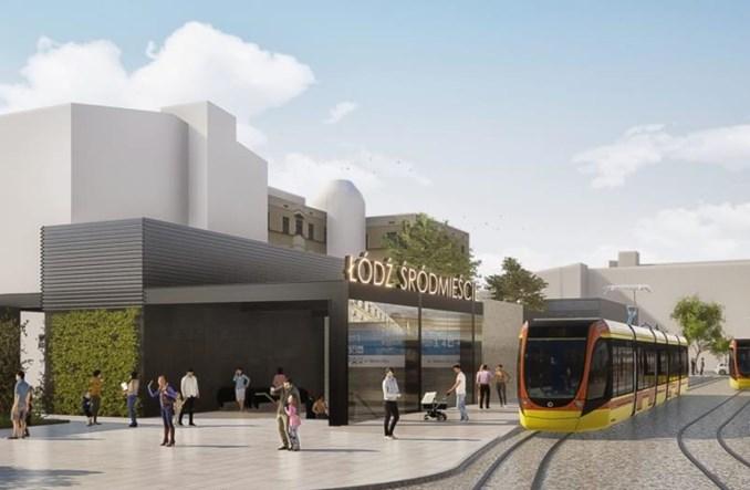 PBDiM: Pozwolenie na budowę przystanku Łódź Śródmieście – dopiero w połowie kwietnia