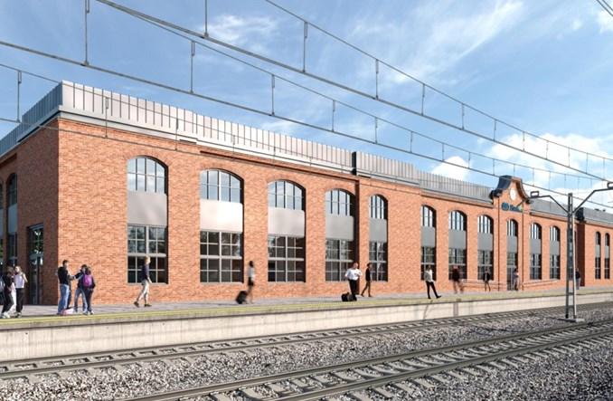 PKP SA rozpisały przetarg na modernizację dworca Siedlce [wizualizacje]
