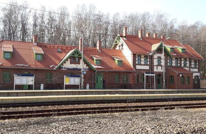 Dworzec PKP Boguszów-Gorce Zachód w nowej odsłonie po remoncie