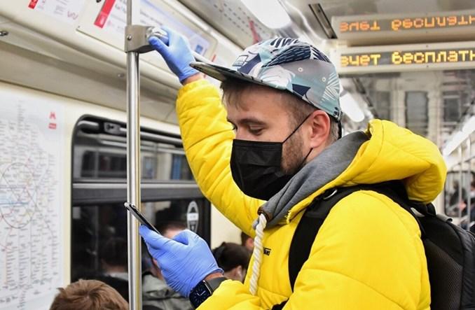 Metro w Moskwie wróciło do 80% napełnienia