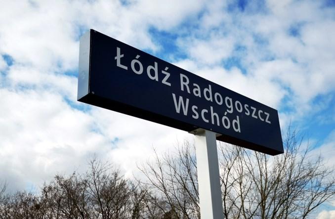 Łódź: System informacji na nowym przystanku kolejowym nie działa