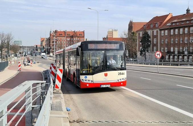Gdańsk: 800 metrów nowych buspasów na Trakcie Świętego Wojciecha