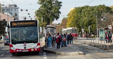 Wiedeń: Samochodów ubywa, sprzedaż biletów rośnie