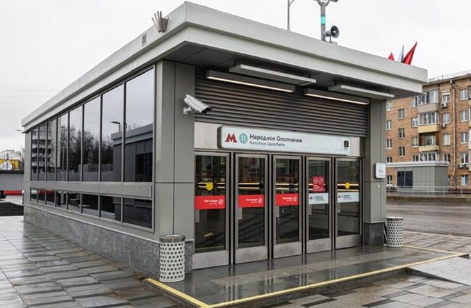 Moskwa: Dwie nowe stacje metra na dużej linii obwodowej