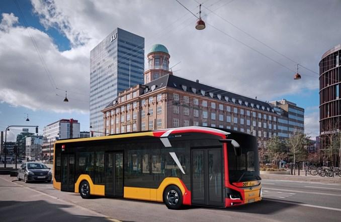 Elektryczne MAN-y pojadą do Kopenhagi