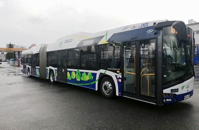 Kolejny przegubowy elektryk Solarisa wozi pasażerów w Krakowie. W sumie już 50 elektrobusów