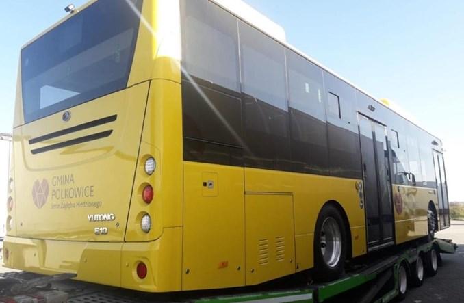 Dziewięć elektrobusów Yutong w kwietniu wyjedzie na ulice Polkowic
