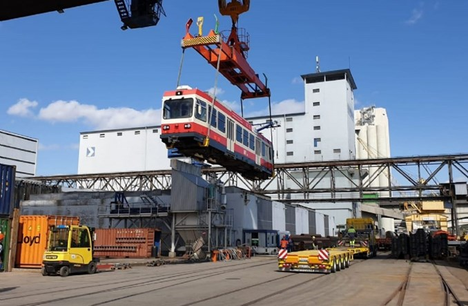 Szwajcarskie tramwaje płyną na Słowację