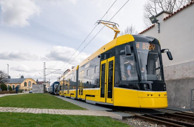 Škoda prezentuje nowe tramwaje dla Pilzna