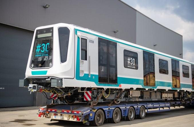 Ostatni pociąg metra Inspiro wyruszył z Nowego Sącza do Sofii