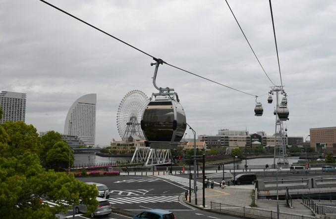 Jokohama z pierwszą kolejką linową w ruchu miejskim