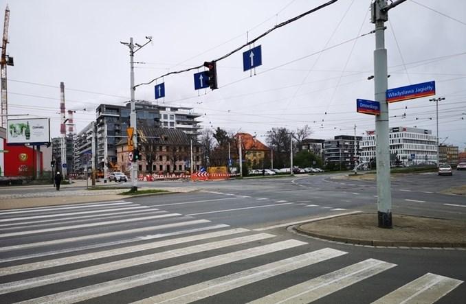 Wrocław: Duże zmiany na skrzyżowania Jagiełły i Dmowskiego przez tramwaj na Popowice