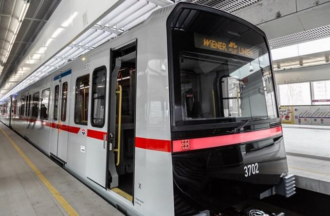 Pociągi metra X na jazdach próbnych w Wiedniu
