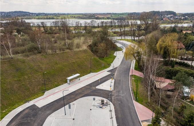 Kraków: Węzeł Rząska-Mydlniki-Wapiennik niemal gotowy