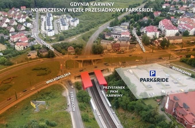 Gdynia: Jest umowa na węzeł Karwiny. Finisz w 2023 r.