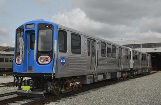 Chicago. Chińskie składy metra zaczynają wozić pasażerów