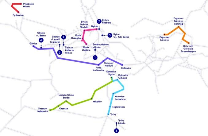 Metropolia GZM przygotowuje dokumenty do drugiego etapu Kolej Plus