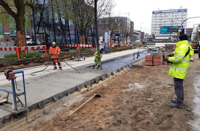 Trwa przebudowa torowisk w Szczecinie