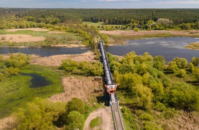 Zachodniopomorskie: Droga rowerowa na dawnym moście kolejowym w Siekierkach otwarta
