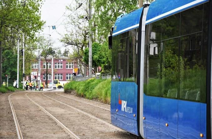 Wrocław: Złotoryjska gotowa. Tramwaje wracają do Wrocławskiego Parku Przemysłowego w ciągu TAT