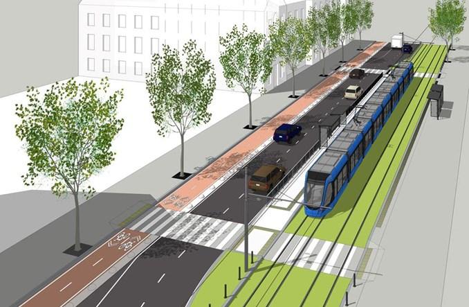 Kijów myśli o tramwaju do centrum miasta