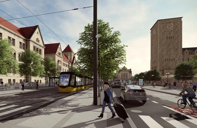 Poznań: Rusza przetarg na przebudowę ul. Św. Marcin od mostu do Gwarnej