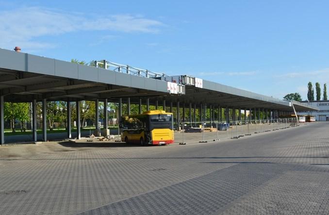 Łódź: Wiata dla elektrobusów niemal gotowa [zdjęcia]