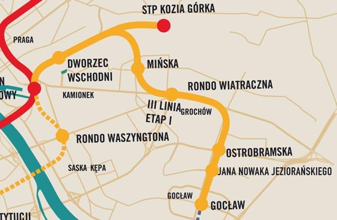Warszawa nie ustaje z III linią metra. Rusza przetarg na prace przedprojektowe