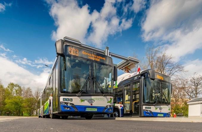 Kraków: 50 nowych autobusów elektrycznych już wozi pasażerów