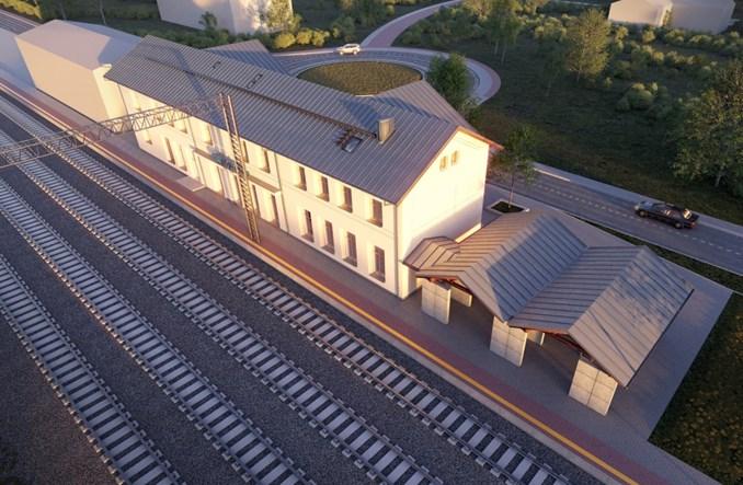 Dworzec w Opalenicy zostanie przebudowany. Jest umowa z wykonawcą