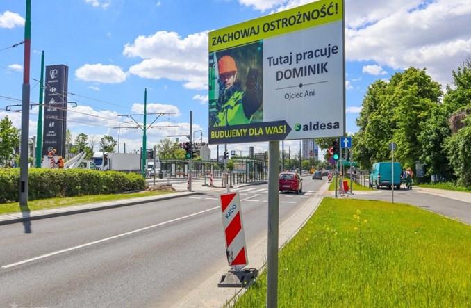 Poznań: Prace na rondzie Rataje coraz bardziej zaawansowane