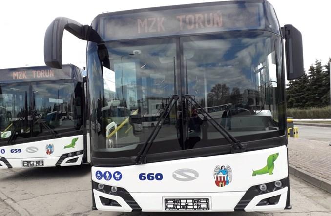 Toruń kupuje kolejne nowe autobusy