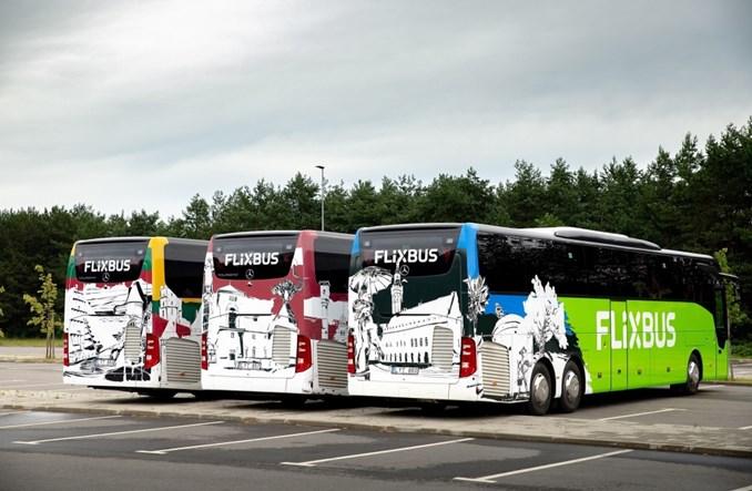 FlixBus wznawia połączenia w krajach bałtyckich
