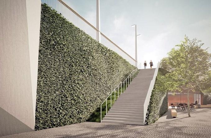 Nowy most w Pradze dla tramwajów i pieszych