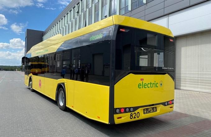 Sosnowiec w oczekiwaniu na nowe elektrobusy