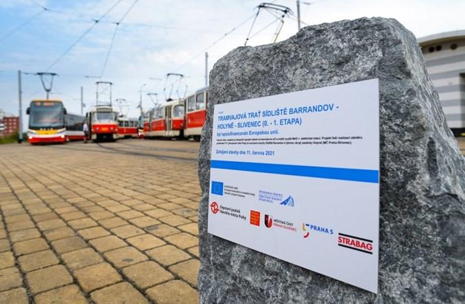 Praga: Rusza budowa nowej trasy tramwajowej