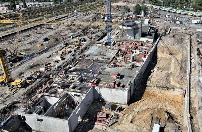 Przebudowa Warszawy Zachodniej: Ruszyła budowa dużej wiaty