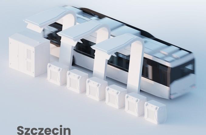 Szczecin: Ekoenergetyka dostarczy kolejne stacje ładowania do elektrobusów