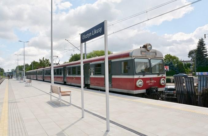 Olsztyn: Ruszyły trzy nowe przystanki kolejowe. Na razie dla 6,5 par połączeń