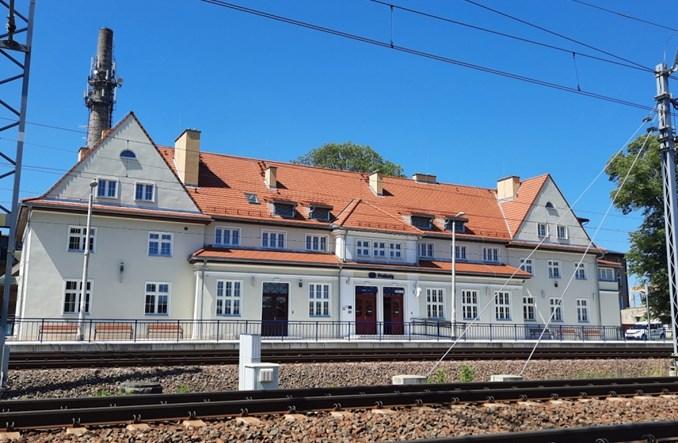 Dworzec w Prabutach służy podróżnym po przebudowie