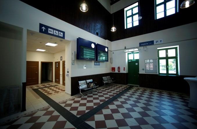 Podkarpackie: Dworzec w Radymnie otwarty po przebudowie