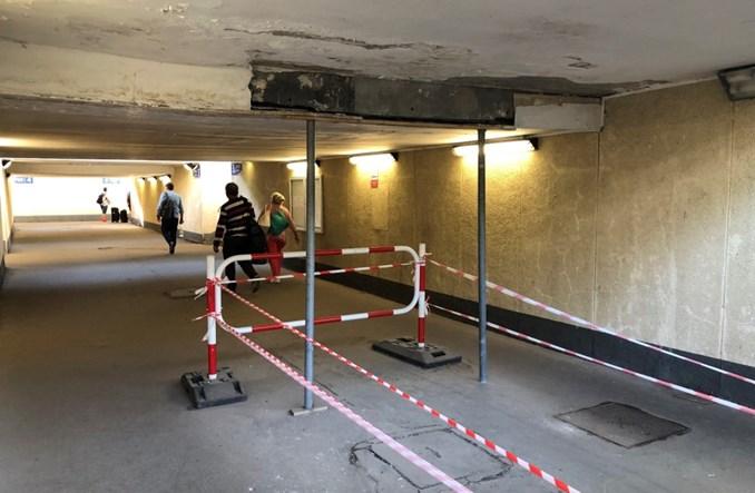 Stacja Olsztyn Główny w coraz gorszym stanie. Teraz tylko naprawy doraźne