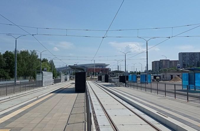 Szczecin: Nowa trasa tramwajowa na Szafera [zdjęcia]