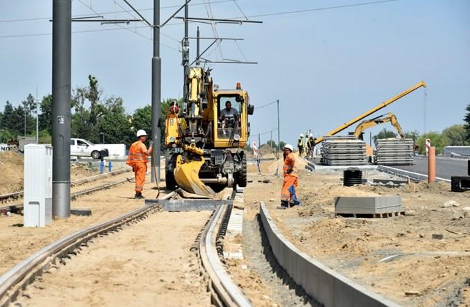 Poznań: Tramwaj na Naramowice zaawansowany w 65 proc.