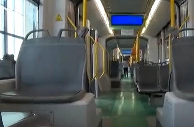 Pierwszy turecki tramwaj firmy Bozankaya w drodze o Timisoary. Baterie na 63 km