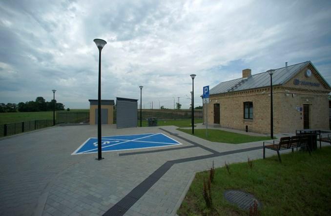 Dworzec w Jabłoni Kościelnej otwarty dla podróżnych