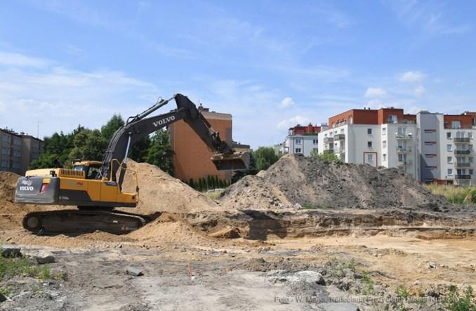 Kraków. Rok na budowie tramwaju do Górki Narodowej